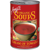 Amy's Organic Soup Cream Of Tomato Low Fat 411g