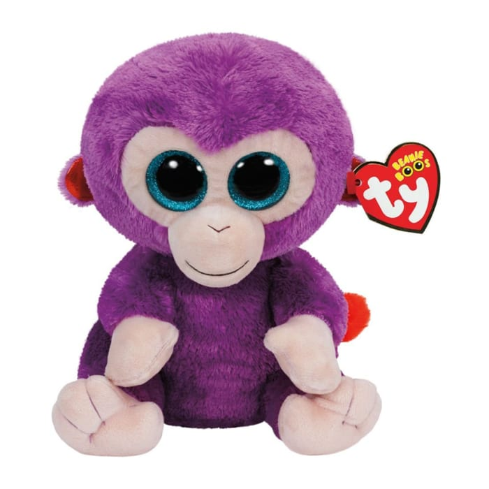 Ty Beanie Boos Monkey Plush Toy Zuri