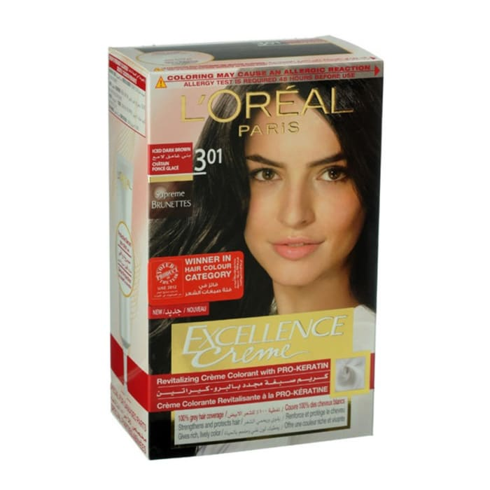 Loreal  Dark Brown Hair Colour