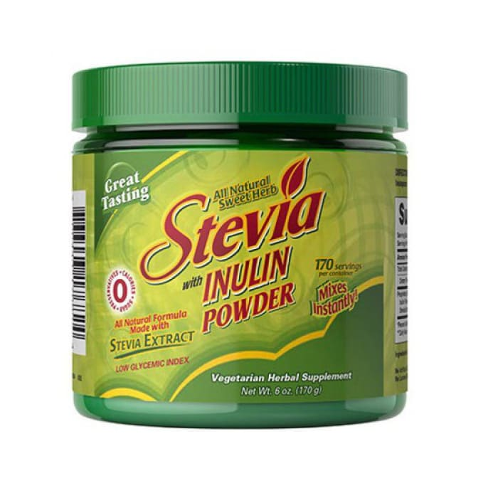 Vitamin World  Stevia With Inulin Fiber Powder