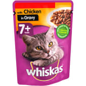 Whiskas Chicken In Gravy 7+ Pouch 100g