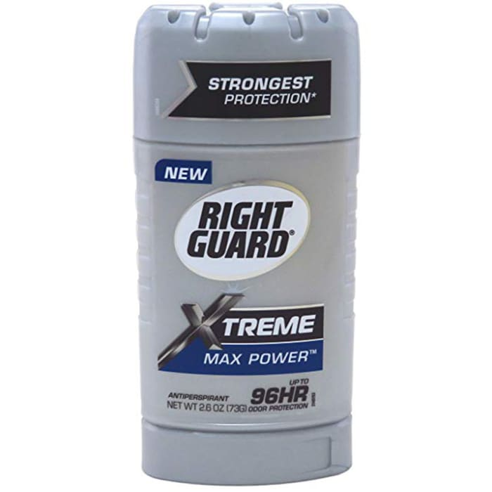 Right Guard Xtreme Antiperspirant Invisible Max Power Solid 73g