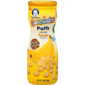 Gerber Baby Biscuits Graduates Banana Puffs