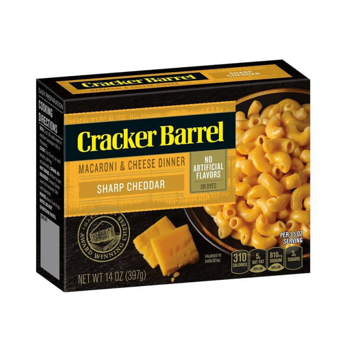 Cracker Barrel Macaroni and Cheese Sharp Cheddar