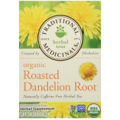 Traditional Medicinals Organic Tea Bags Roasted Dandelion Root