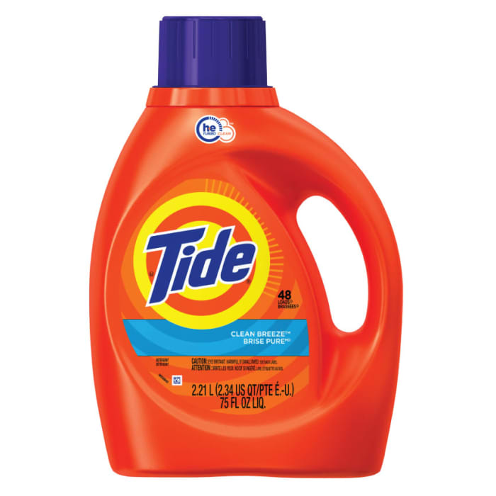 Tide Clean Breeze Scent Liquid Laundry Detergent