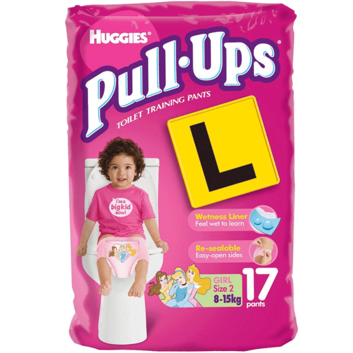 Huggies Pull-Ups Training Pants for Girls