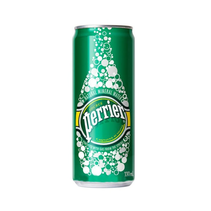 Perrier Sparkling Mineral Water Can