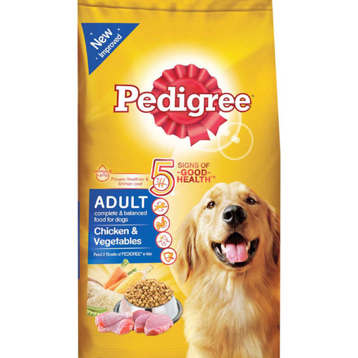 Pedigree Dog Food Chicken and Vegetables