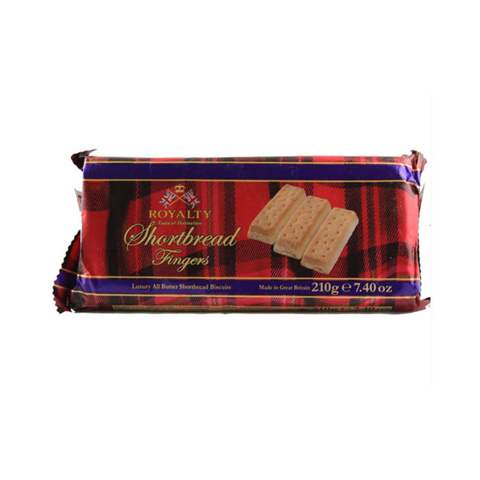 Royalty Shortbread Fingers Biscuits 210g