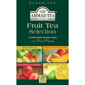 Ahmad Black Tea 20 Tea Bags Fruit Selection, 40g