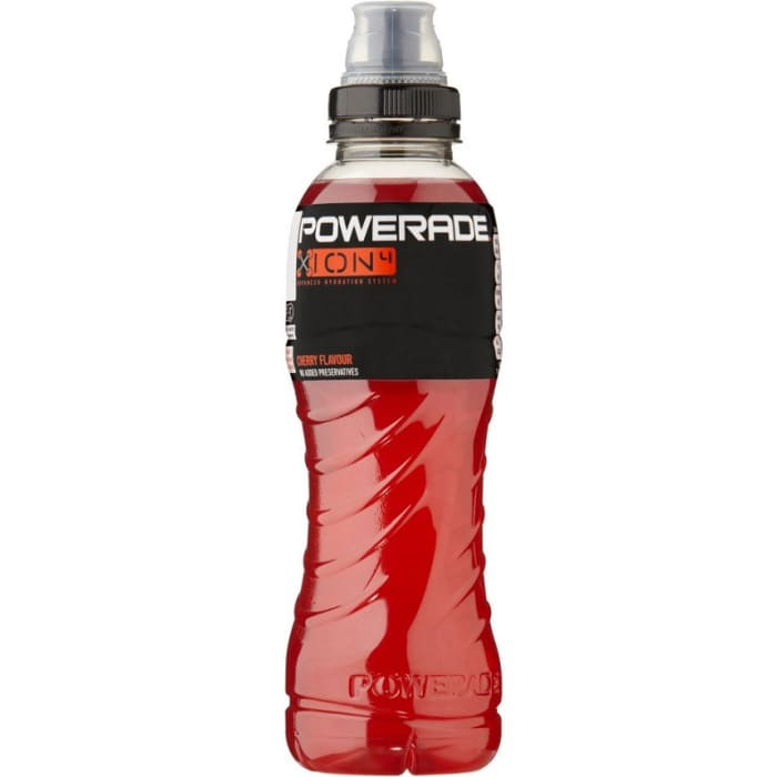 Powerade Energy Drink Cherry Bottle