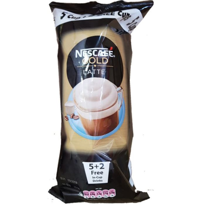 Nescafe Gold Latte 7 Cup Drinks 77g