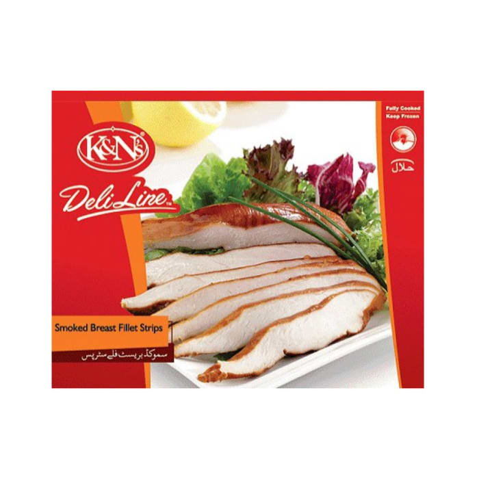 K&N's Smoked Breast Fillet Strips Economy Pack