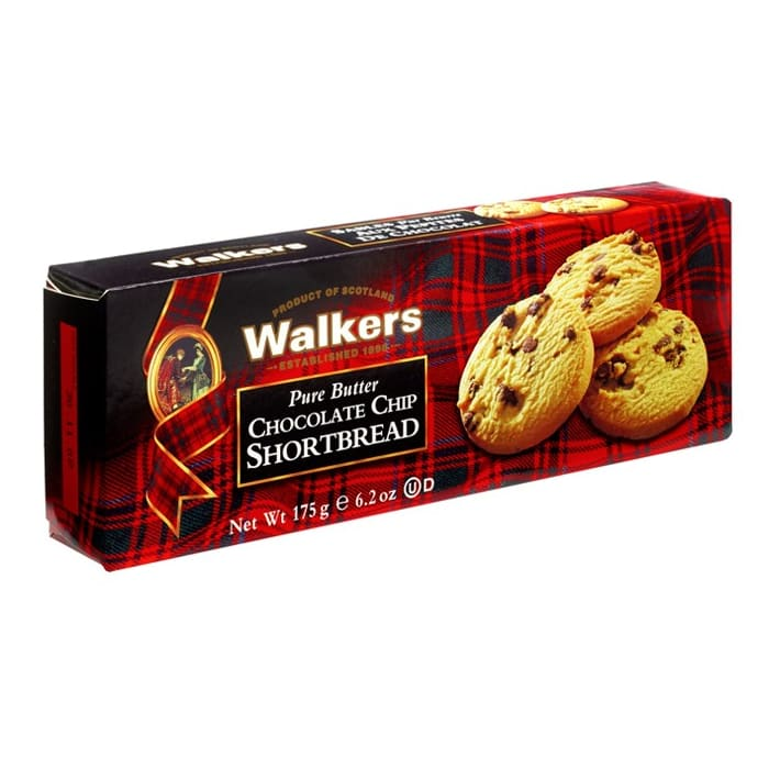 Walkers  Crackers Chocolate Chip Short Bread