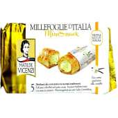 Matilde Vicenzi Puff Pastry Rolls Filled with Pastry Cream Mini Snack