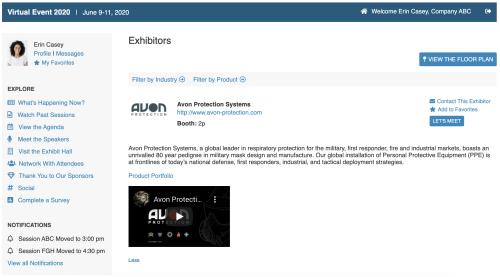 VEP - Exhibitors Graphic