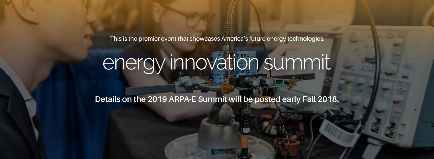 2019 ARPA-E Summit Graphic