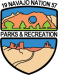 Navajo Parks and Recreation Logo