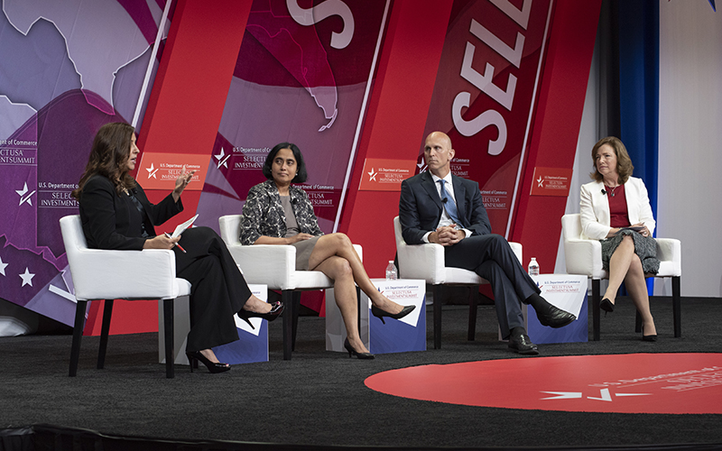 SelectUSA Investment Summit Panel Discussion Photo