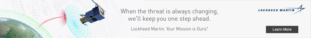 Lockheed Martin Sponsor Ad