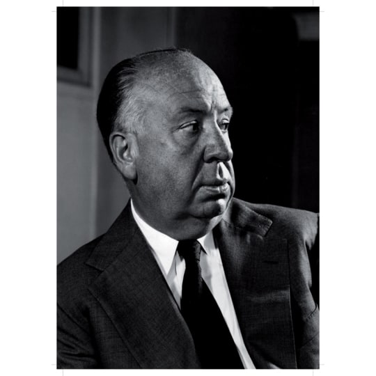 Dementia friendly Alfred Hitchcock - A4 (210 x 297mm)