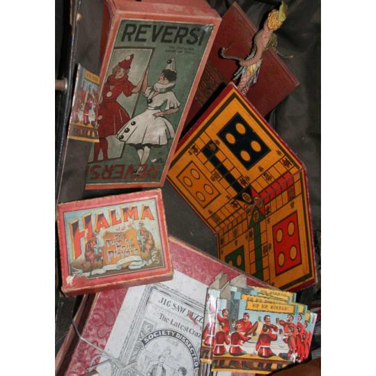 Dementia friendly Assorted Vintage Board Games - A4 (210 x 297mm)
