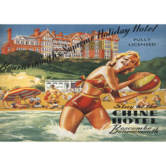Dementia friendly Bournemouth Holiday - A4 (210 x 297mm)