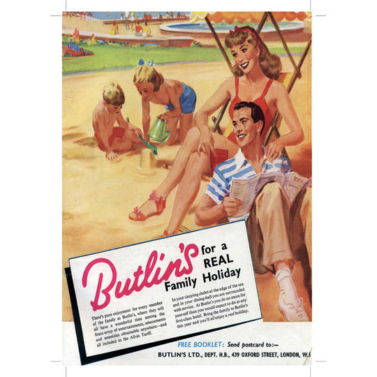 Dementia friendly Butlins Holiday 3 - A4 (210 x 297mm)