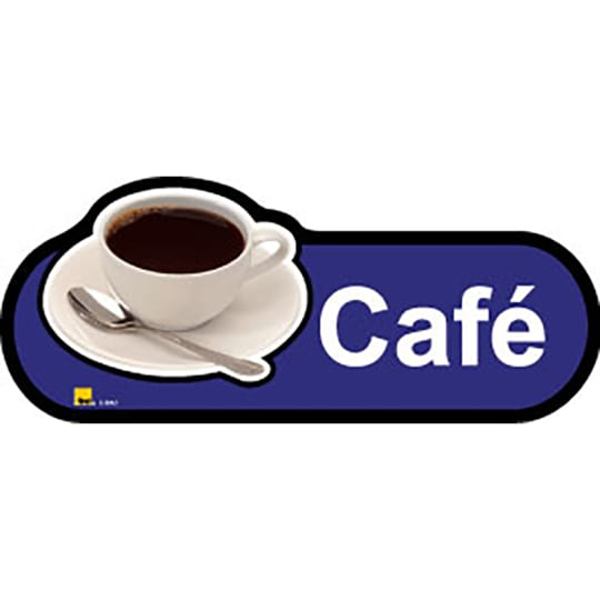 Cafe  - Dementia Signage for Hospitals