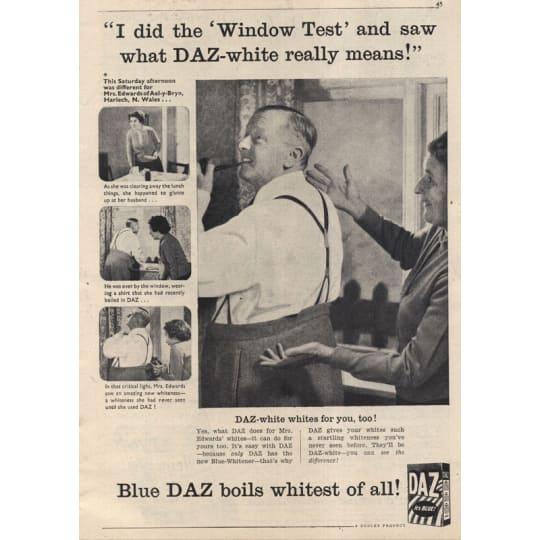 Dementia friendly Daz Detergent - A4 (210 x 297mm)