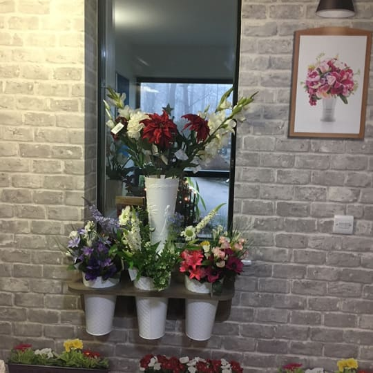 Interactive furniture Flower Display