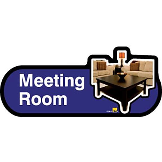 Meeting Room  - Dementia Signage