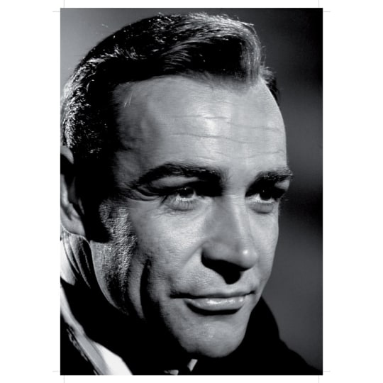 Sean Connery - A4 (210 x 297mm)