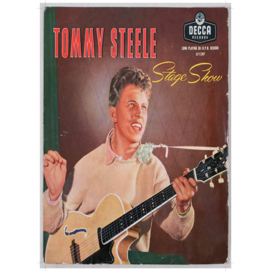 Tommy Steele - A4 (210 x 297mm)