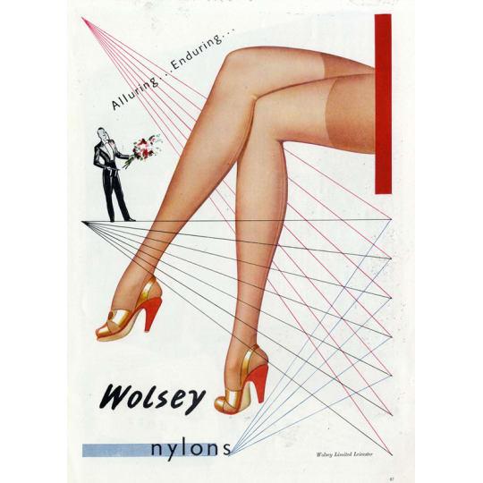 Dementia friendly Wolsey Nylons - A4 (210 x 297mm)