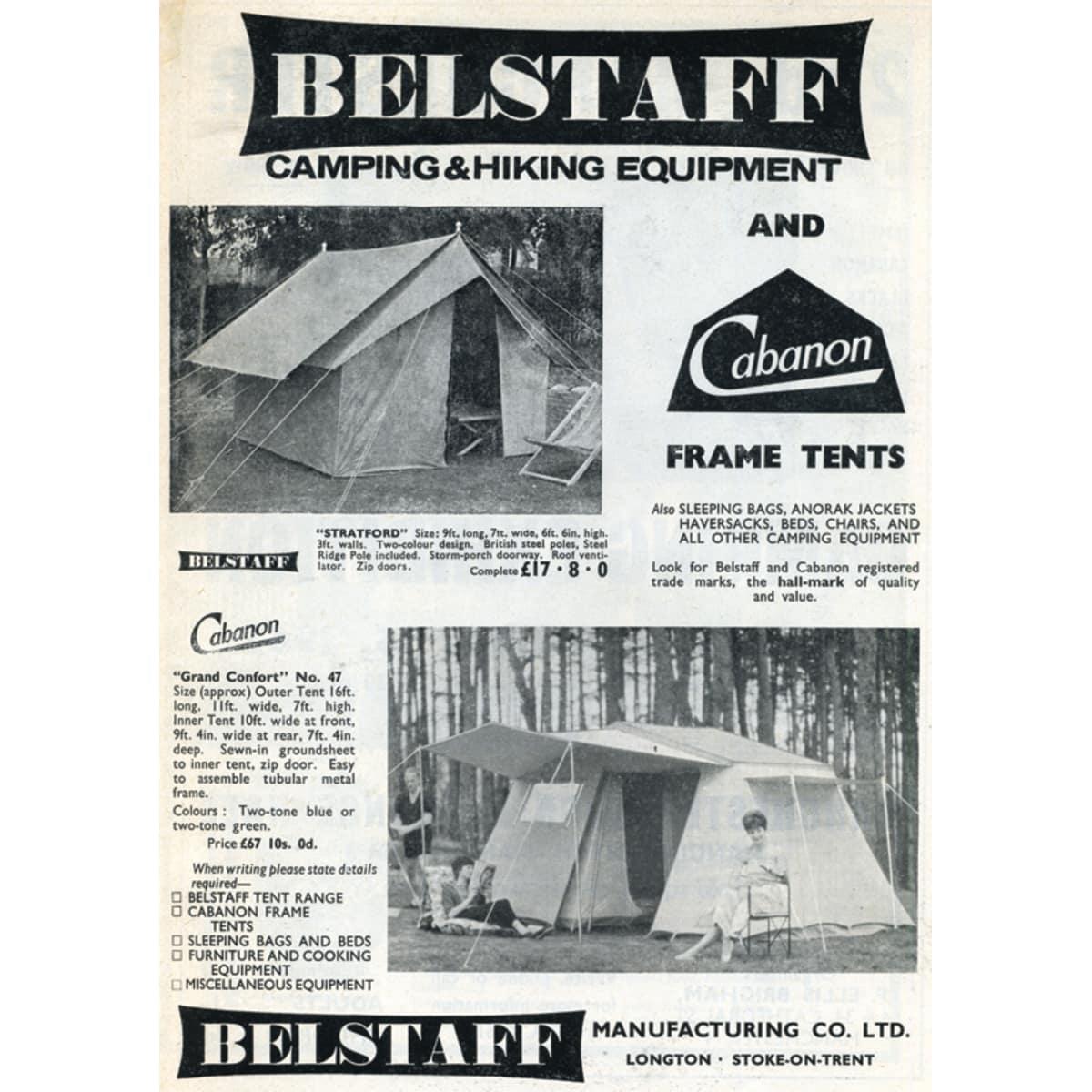 Belstaff Camping - A4 (210 x 297mm)