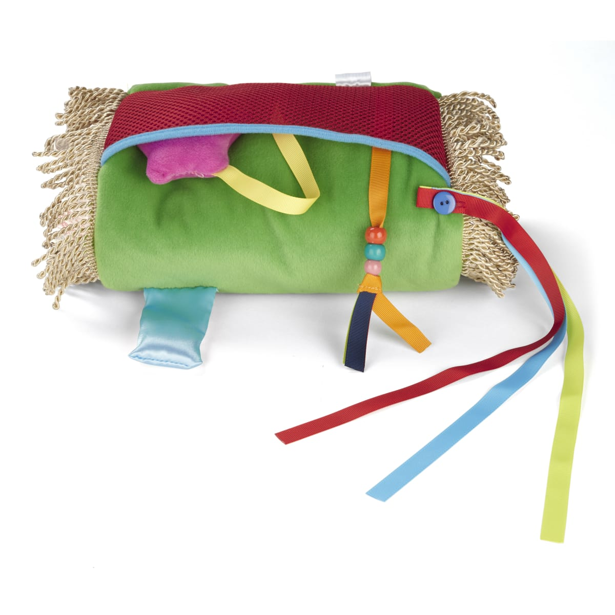 Fiddle Muff - Buttons and Beads - Sensory Theropy
