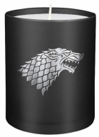 Game of Thrones. House Stark large glass candle