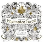 Enchanted forest: an inky treasure hunt and colouring book