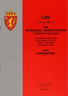 Lov om offentlige tjenestetvister (tjenestetvistloven) av 18. juli 1958 nr. 2