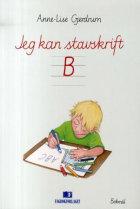 Jeg kan stavskrift B