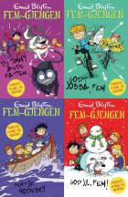 Fem-gjengen illustrerte bøker