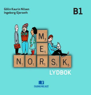 Mer norsk,  Lydbok CD