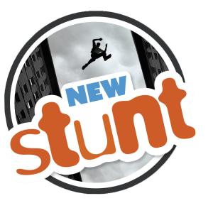 New Stunt, d-bok