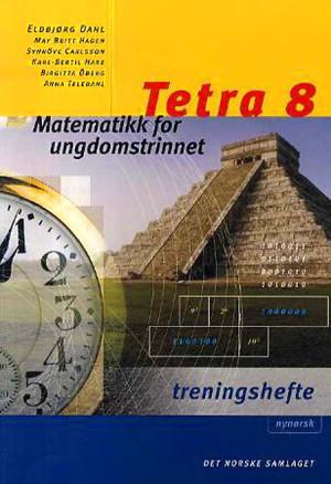 Tetra 8 Treningshefte, interaktiv d-bok