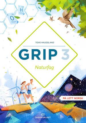 Grip 3 Naturfag Grunnbok, d-bok (NYN)