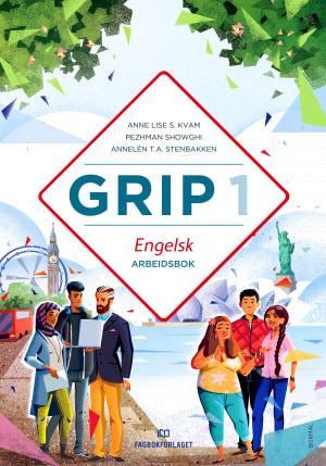 Grip 1 Engelsk Arbeidsbok