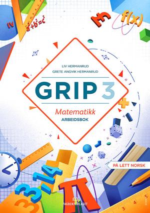 Grip 3 Matematikk Arbeidsbok (BM)