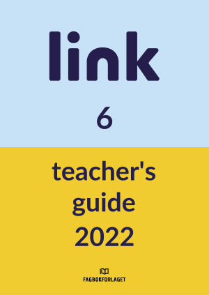 link 6 Teacher's Guide, d-bok